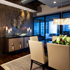 Contemporary Dining Room by Avvici Group