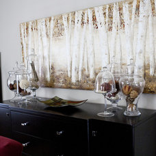 Modern Dining Room by Pure Bliss Creative Design