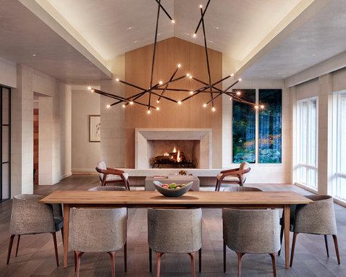 contemporary dining room design ideas renovations photos. Black Bedroom Furniture Sets. Home Design Ideas