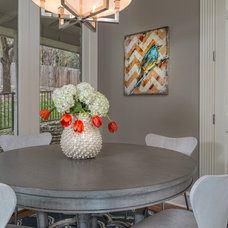 Traditional Dining Room by Design Studio2010, LLC