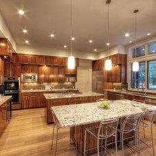 Modern Dining Room by Butter Lutz Interiors, LLC