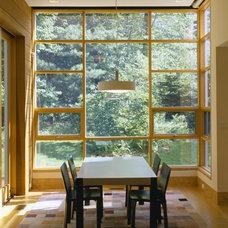 Contemporary Dining Room by Catalano Architects