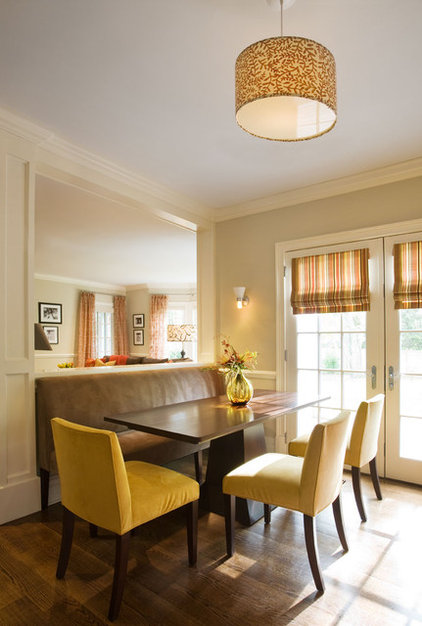 Contemporary Dining Room by Robin McGarry Interior Design