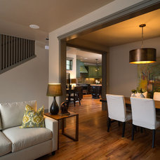 Contemporary Dining Room by Copperline Homes