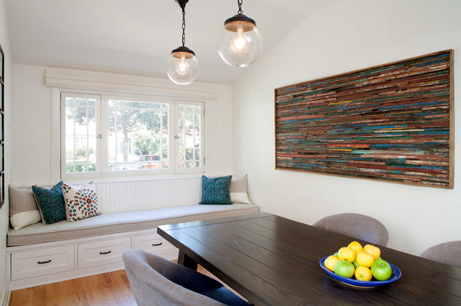 Craftsman Dining Room by JWT Associates
