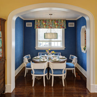 Blue And Yellow Dining Room Ideas Photos Houzz