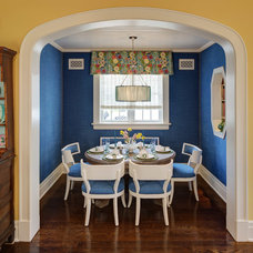 Traditional Dining Room by W Design Interiors