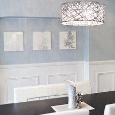 Contemporary Dining Room by BiglarKinyan Design Planning Inc.