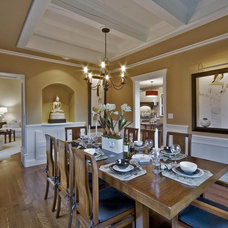 Traditional Dining Room by Debbie Evans Interior Design