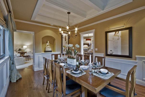 Traditional Dining Room by Debbie Evans Interior Design