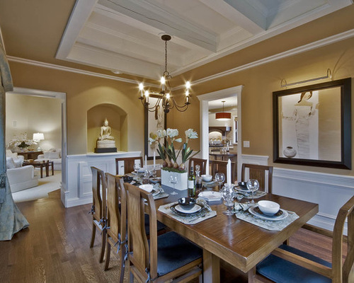 Dining room paint colors houzz for Q significa dining room