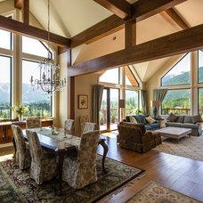 Traditional Dining Room by EuroLine Windows Inc.