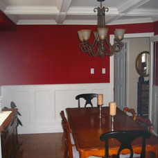Traditional Dining Room by AWL Construction Ltd.