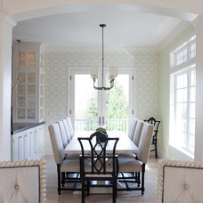 Traditional Dining Room by Jenny Baines, Jennifer Baines Interiors