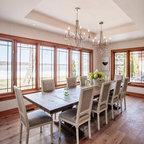 Bayshores Drive Beach Style Dining Room Orange