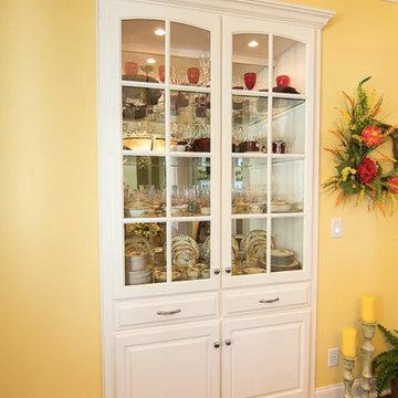 White Kitchen & Storage