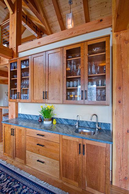 Contemporary Dining Room by Bonin Architects &  Associates