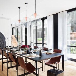 Sala da pranzo contemporanea Huntington - Foto, Idee, Arredamento