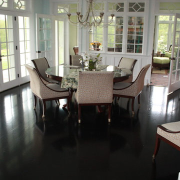 White Oak Stained Black