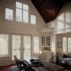 White Plantation Shutters - Hunter Douglas