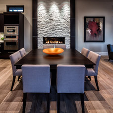 Contemporary Dining Room by tdSwansburg design studio