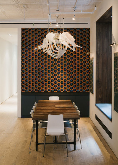 Contemporary Dining Room by Raad Studio