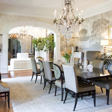 Traditional Dining Room by Kenneth Lynch & Associates
