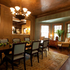 Traditional Dining Room by Durden Architecture