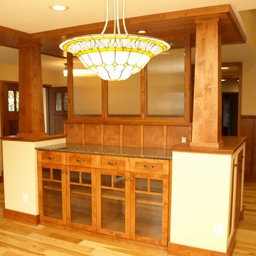 Whole House Remodel Woodsy Craftsman Style