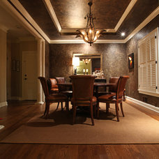 Contemporary Dining Room by VV Contracting, Inc