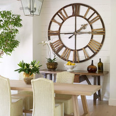 Transitional Dining Room by TR Building & Remodeling Inc.
