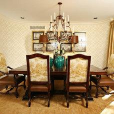 Traditional Dining Room by Tiffany Farha Design