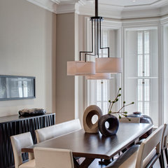 contemporary dining room by Buckingham Interiors + Design LLC