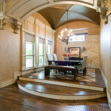 Traditional Dining Room by Tatum Building Corp