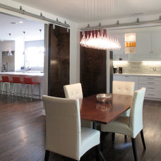 Contemporary Dining Room by Tekton Remodeling