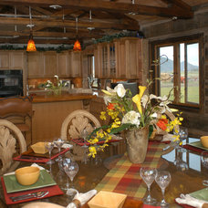 Traditional Dining Room by Legends West Reclaimed Lumber