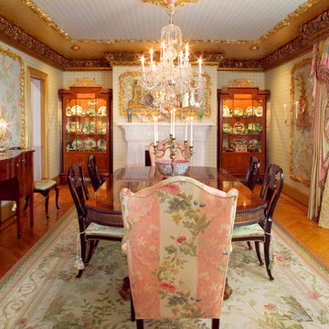William & Mary Style Dining Room