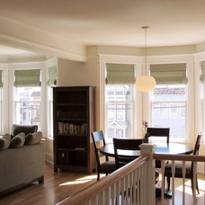 Contemporary Dining Room by William Duff Architects, Inc.