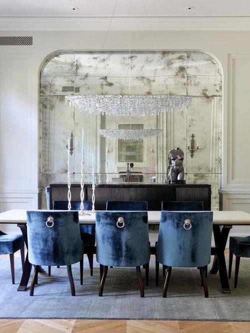 Mercury glass tile. anthropology klassische esszimmer   ideen ...