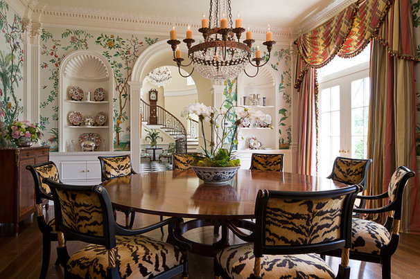 Traditional Dining Room by William T Baker