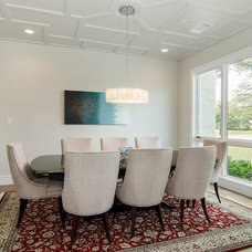 Contemporary Dining Room by John Lively & Associates