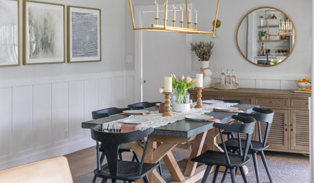 New This Week: 5 Soft and Stylish Dining Rooms