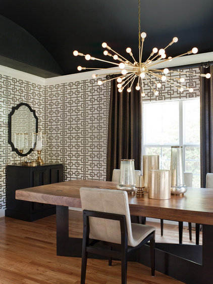 modern dining room by Lizette Marie Interior Design