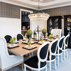 Palmetto Bluff Private Residence Traditional Dining