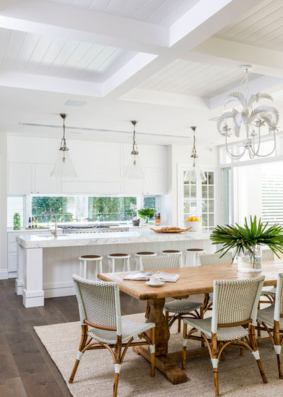 Beach Style Dining Room by Highgate House