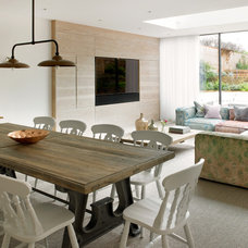 Contemporary Family Room by STEPHEN FLETCHER ARCHITECTS
