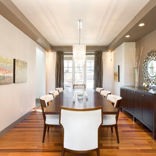 Contemporary Dining Room by Homes by Avi