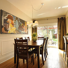 Contemporary Dining Room by Pure Bliss Creative Design