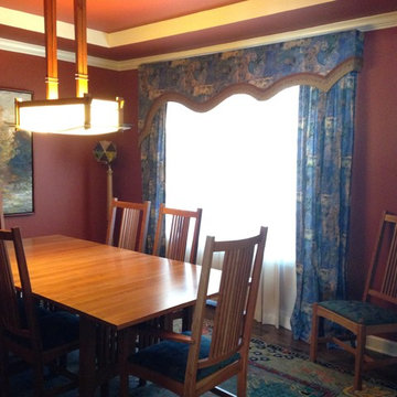 Window Treatments and Draperies Before and After