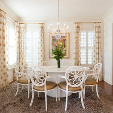 Eclectic Dining Room by Heather ODonovan Interior Design